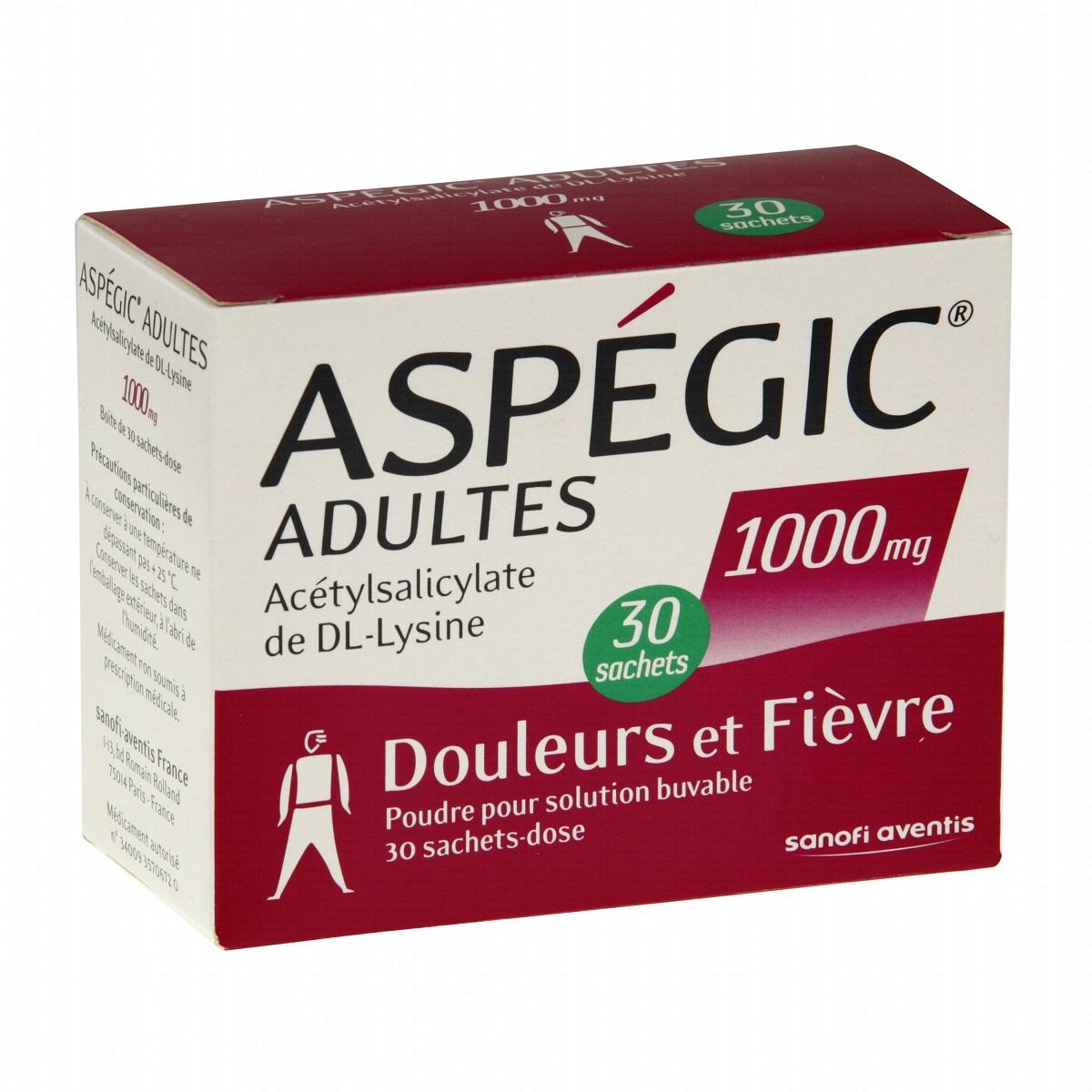 Aspegic-adulte-1000-mg
