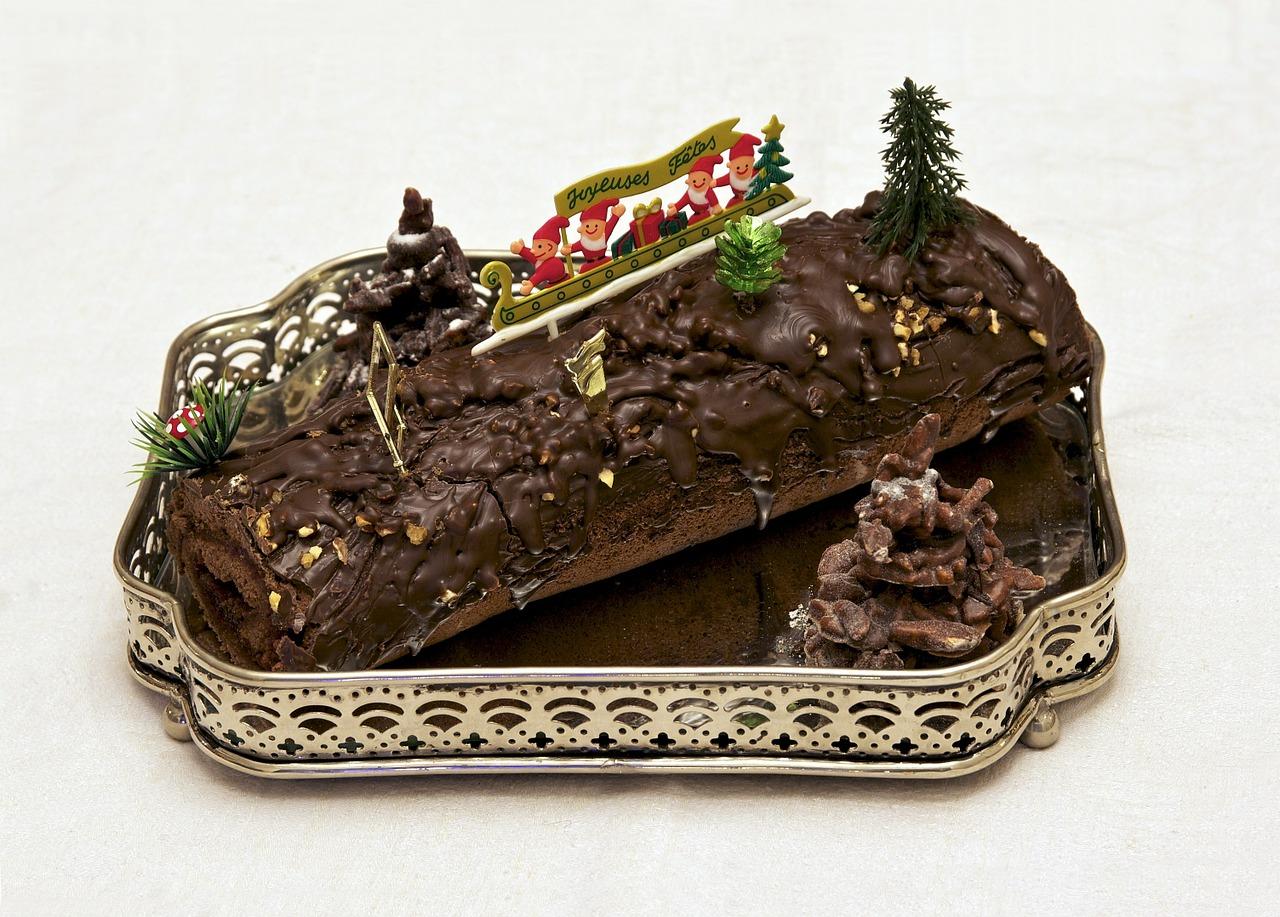 Bûche de Noël recette pâtisserie