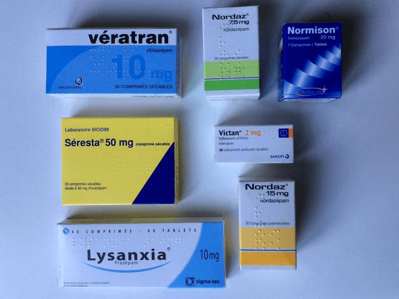 Benzodiazépines inconnues du public