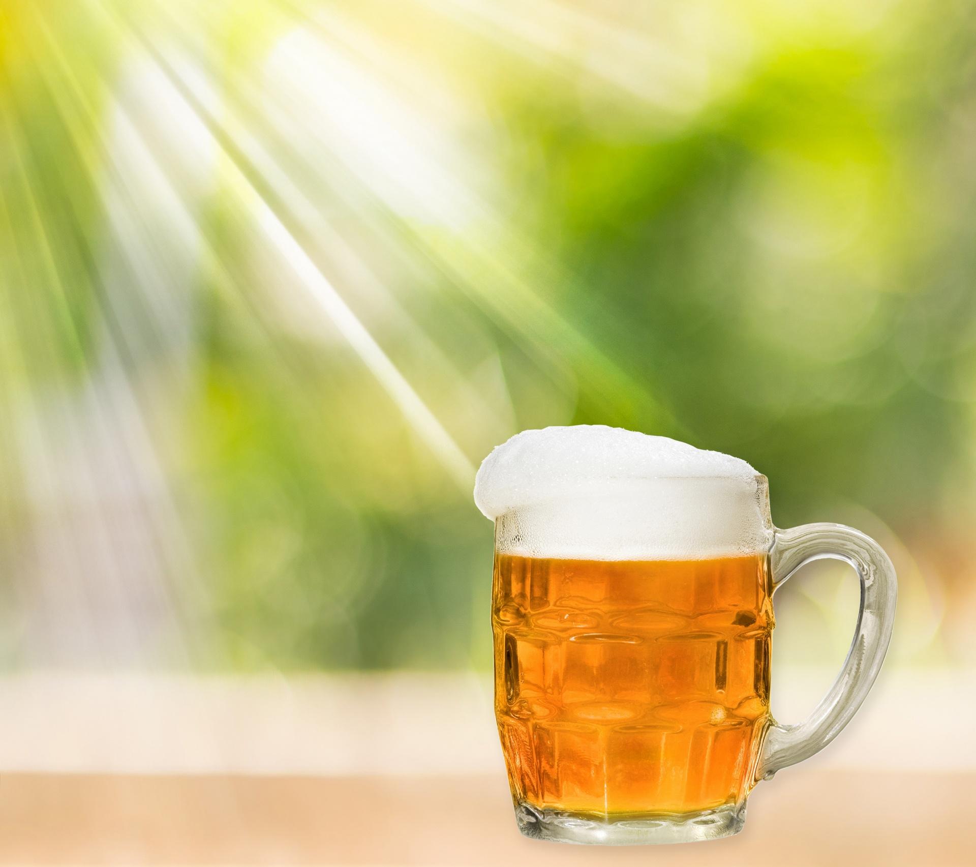 bière avec du sucre candi