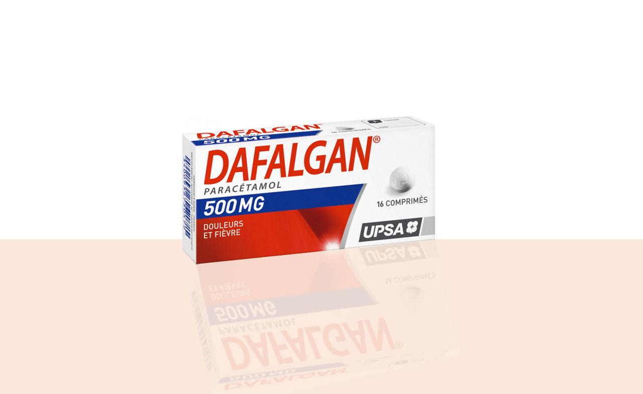Dafalgan 500 mg gélule boîte de 16