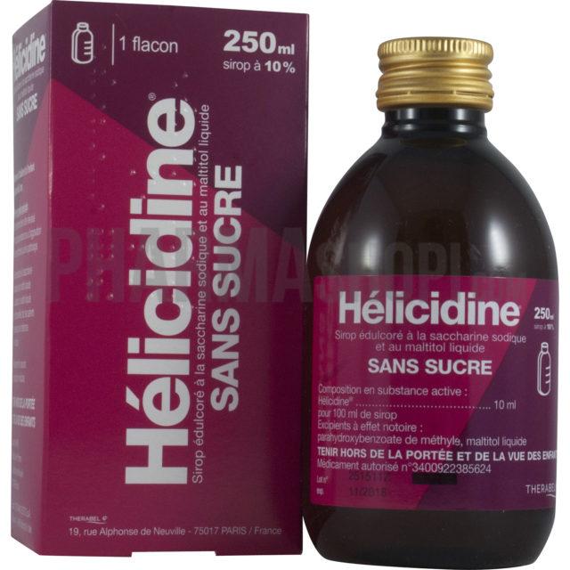 Helicidine 10% sans sucre