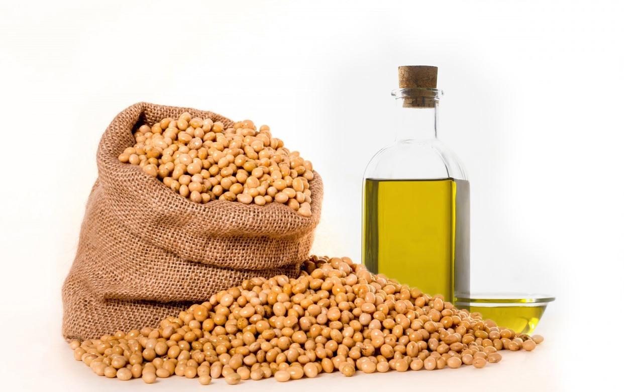 Huile de soja, oméga 6, matière grasse