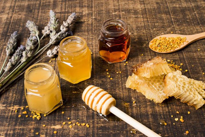 Miel et sucre