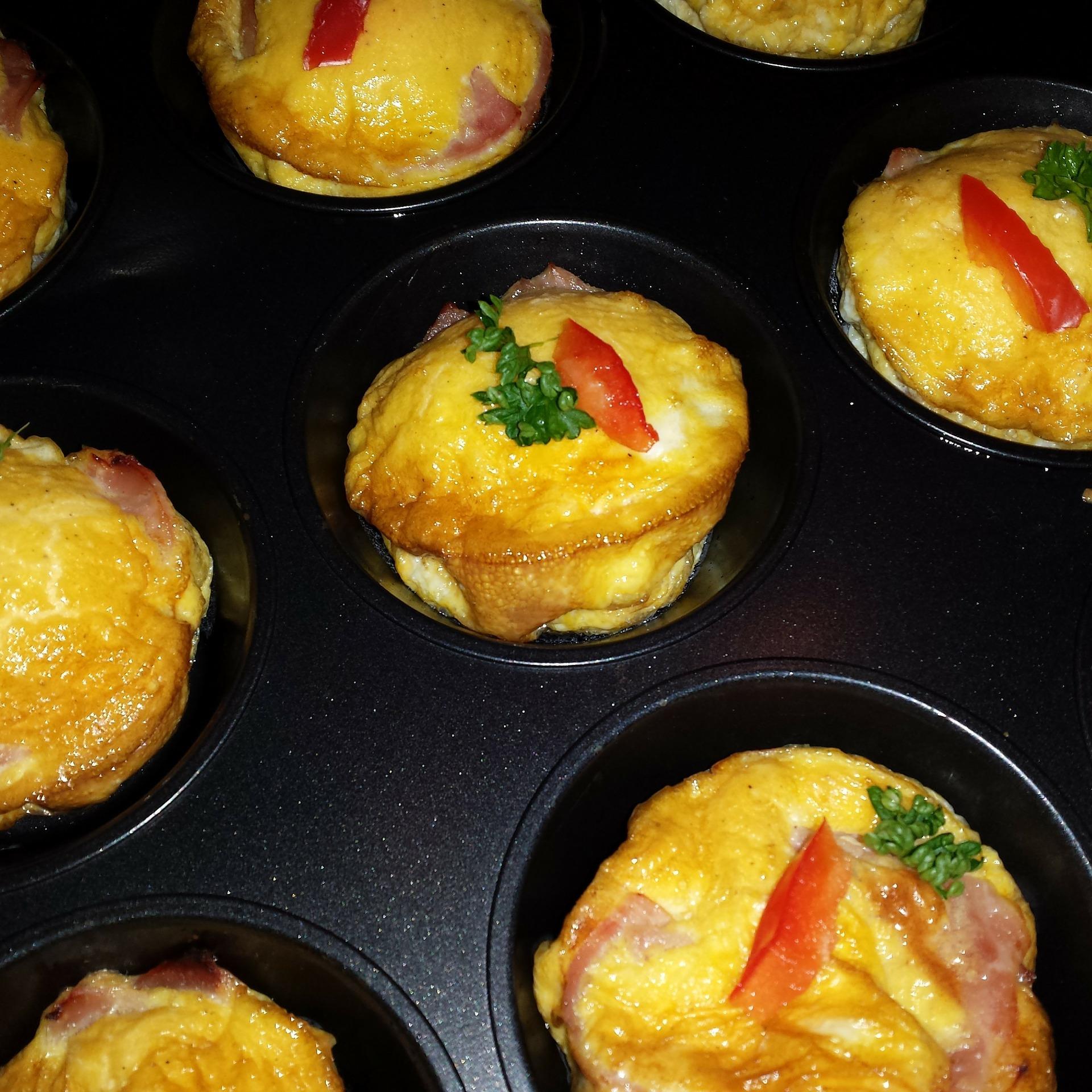 muffin jambon