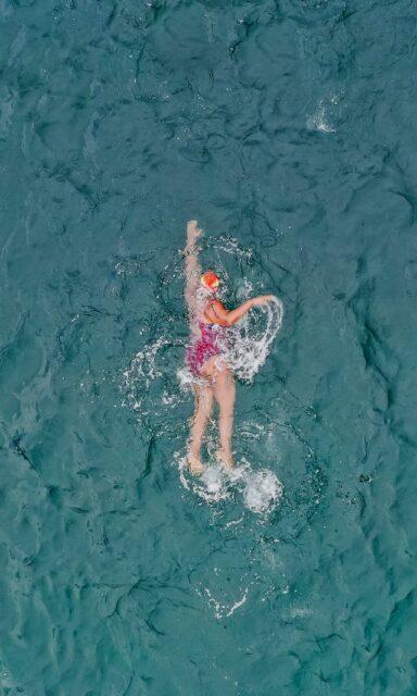 natation, affiner la silhouette
