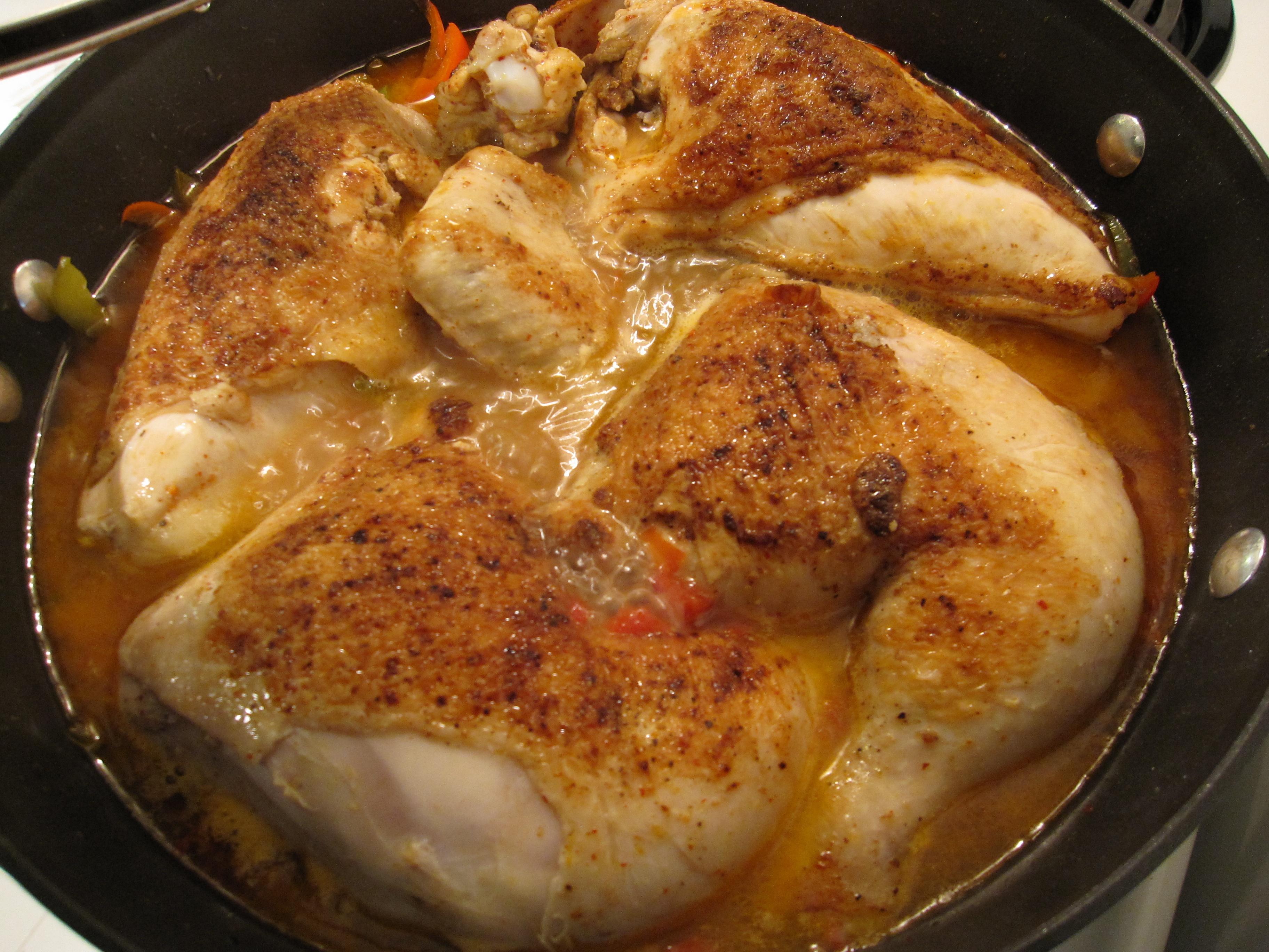 Poulet à la basquaise recette
