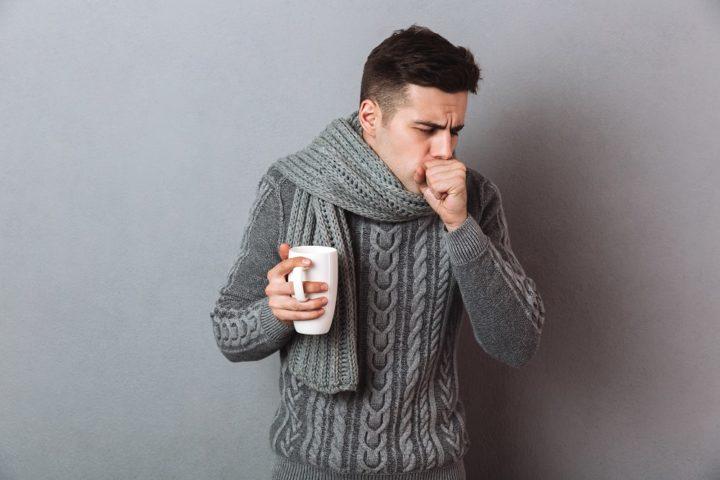 Toux sèche, rhume, grippe