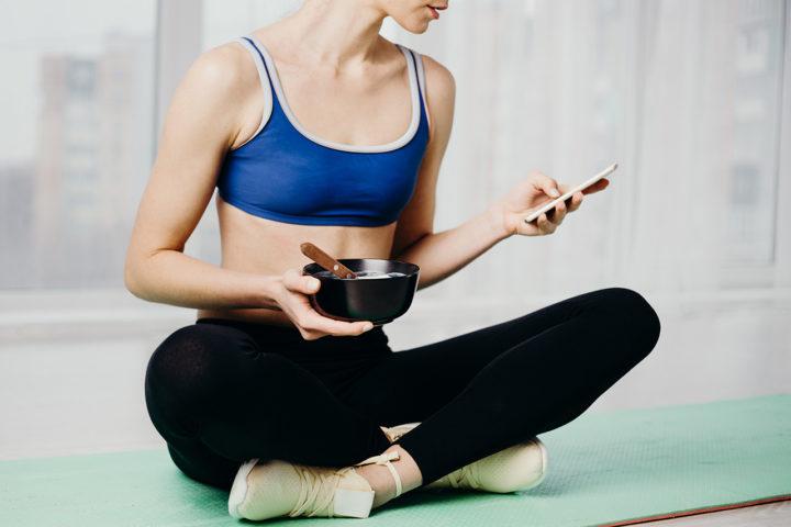 applications mobiles de santé et de forme
