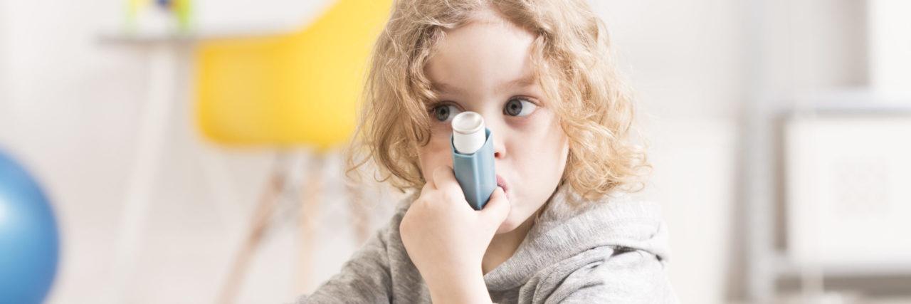 Asthme-rétrécissement des bronches