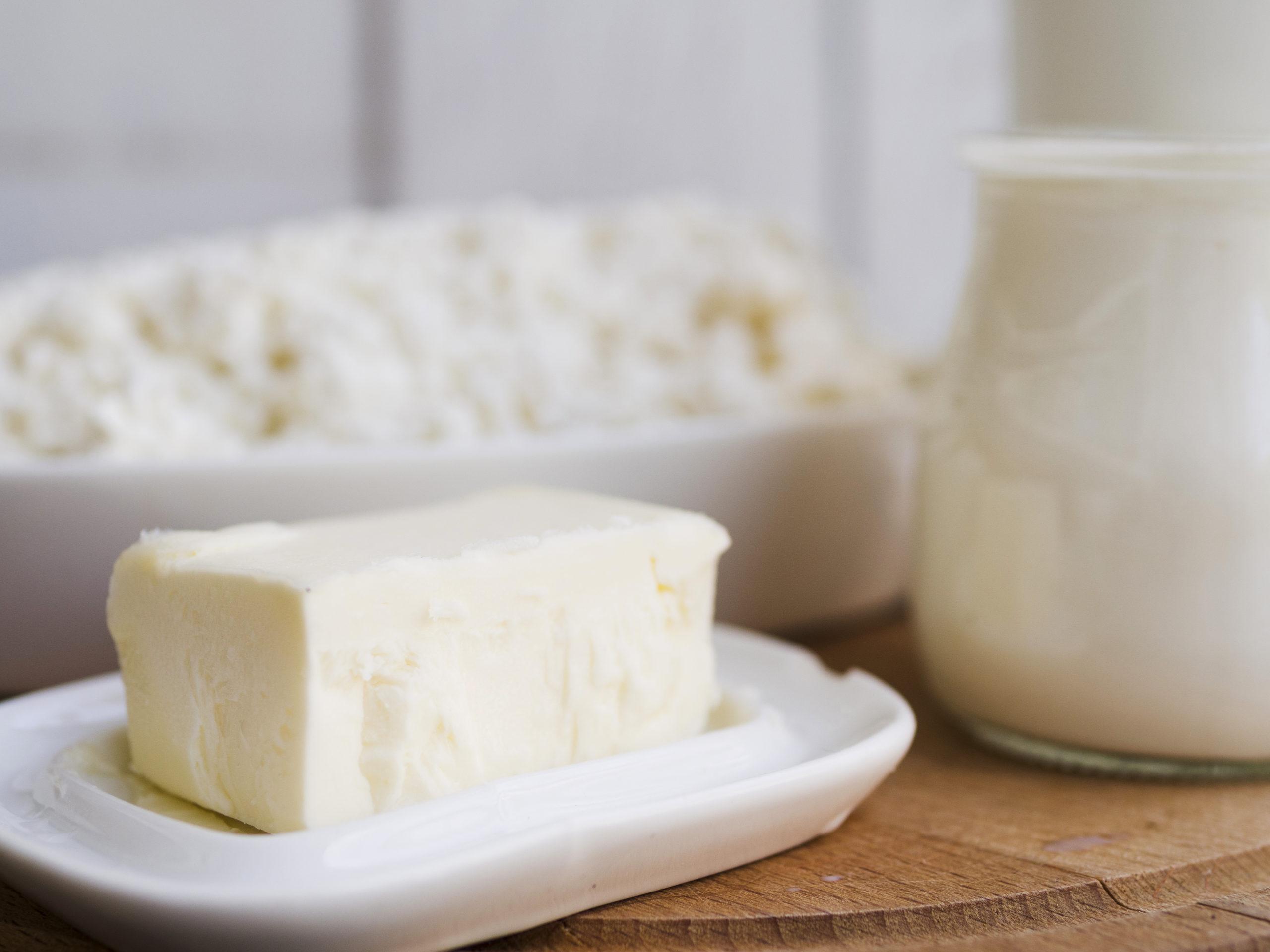 Beurre-matière grasse