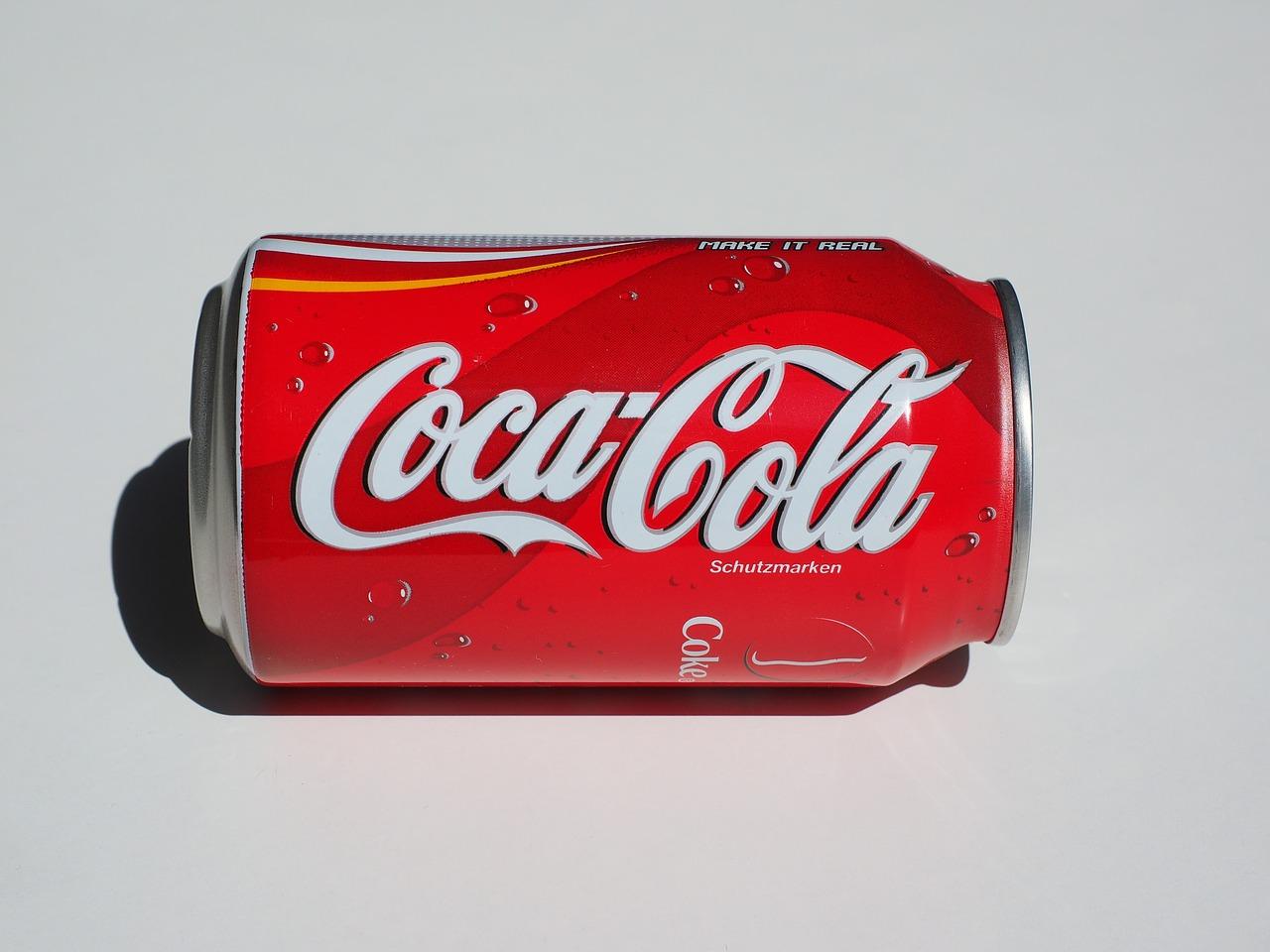 boisson coca et aliment transformé