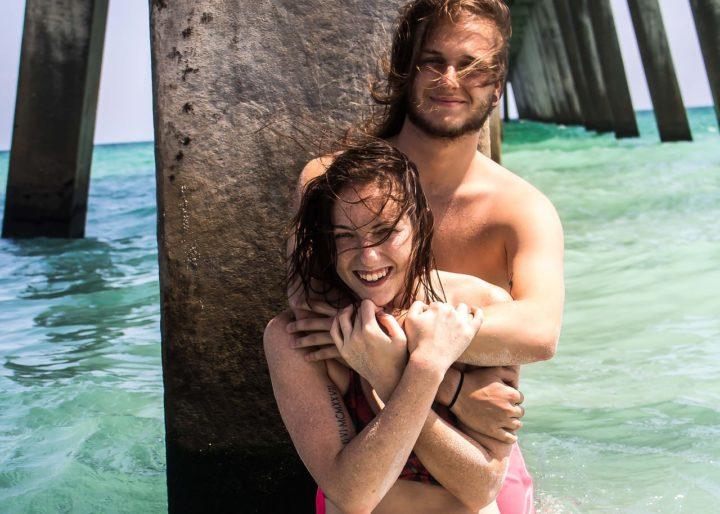 Faire l'amour dans l'eau Couple
