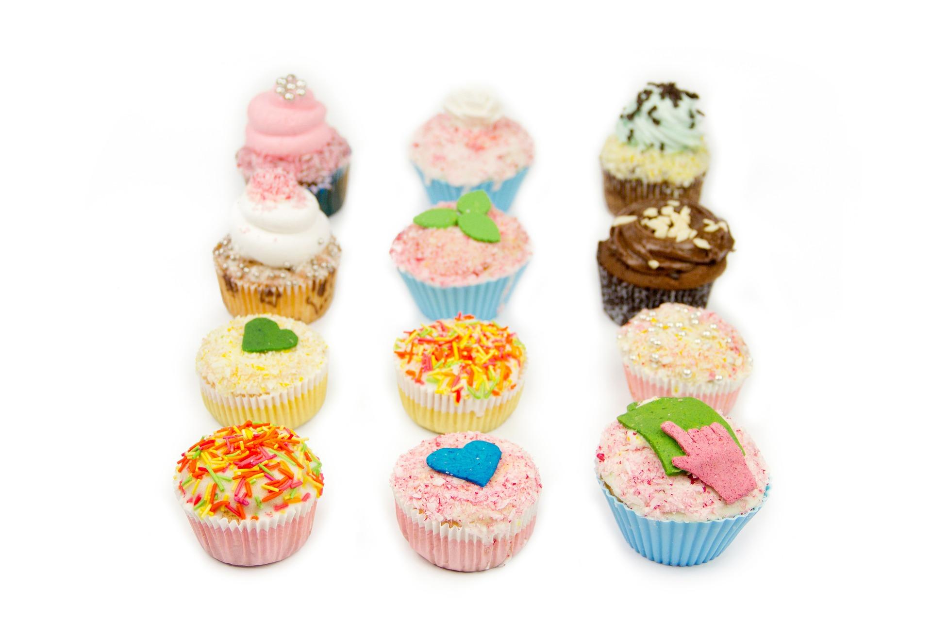 Cupcake goûteuse
