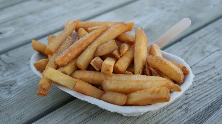 Frites : déconseillés lors du régime hypocalorique