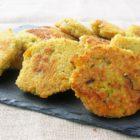 Galettes de quinoa aux légumes et au parmesan