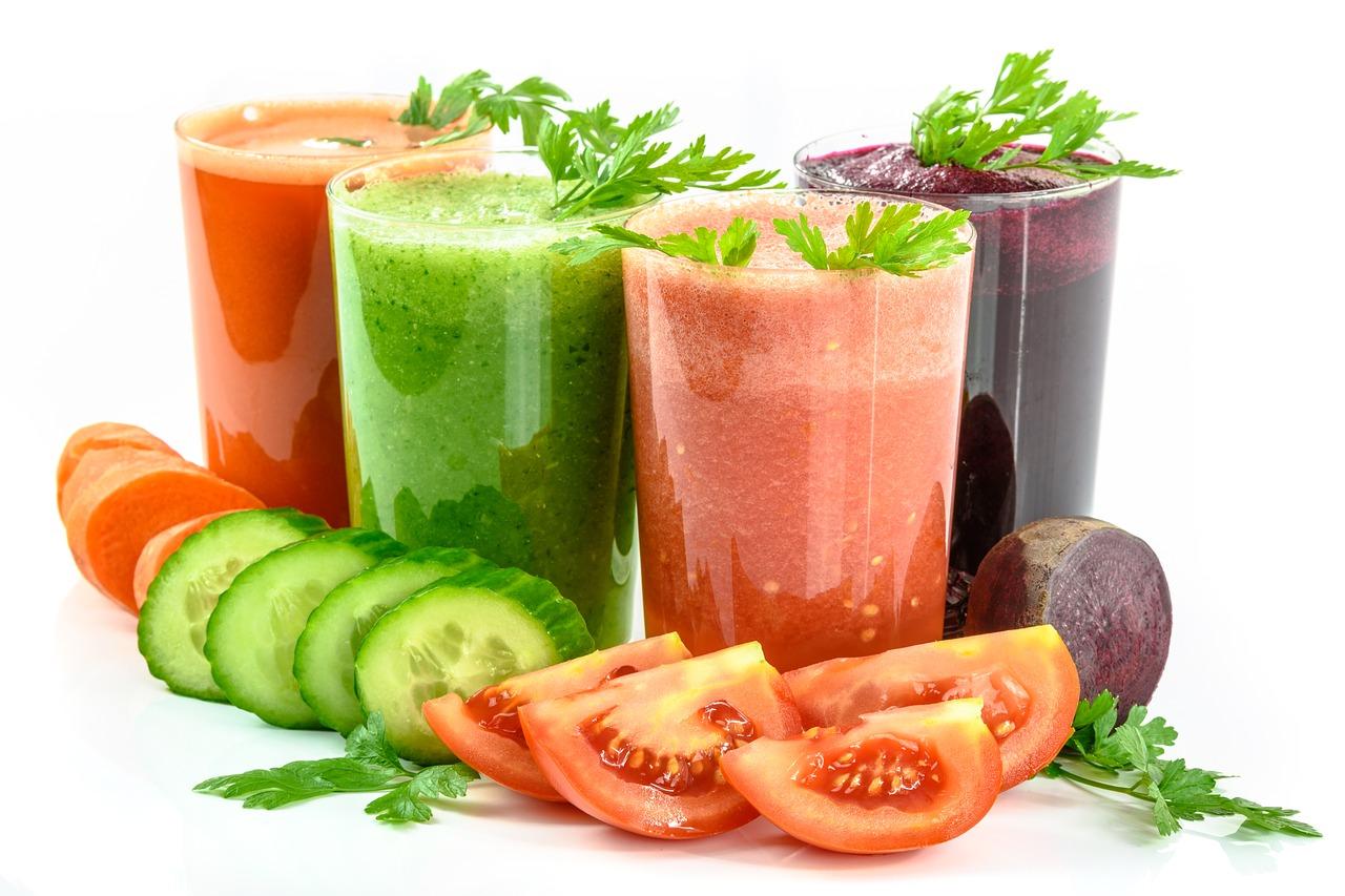 Jus de légumes bons pour la santé