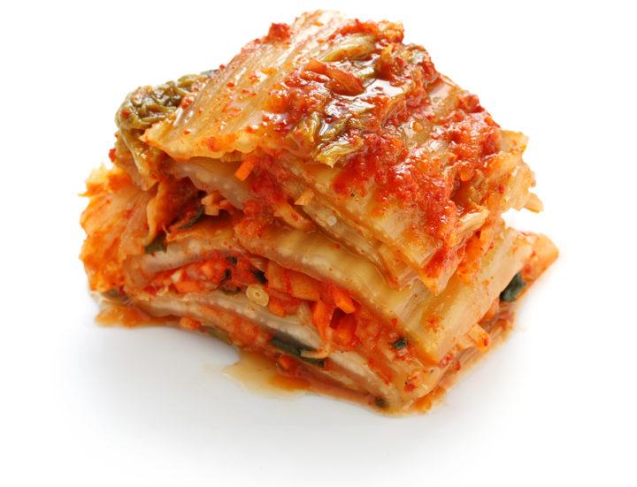 kimchi, aliment fermente riche en probiotique