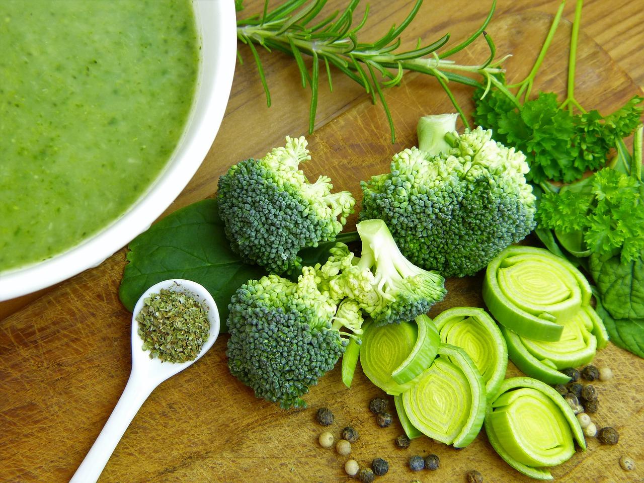 Légumes Verts contenant de la vitamine K