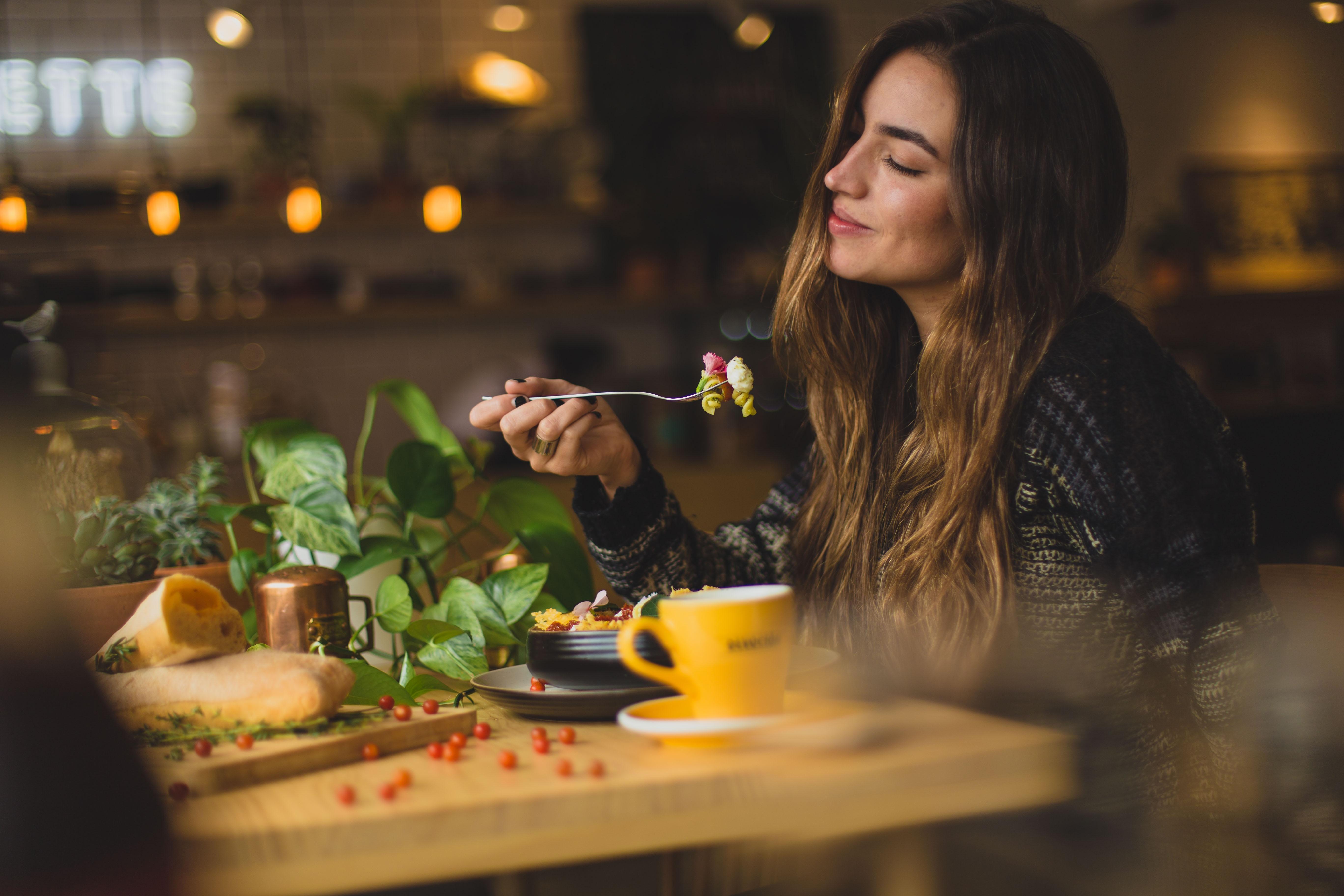 Prendre son temps pour manger
