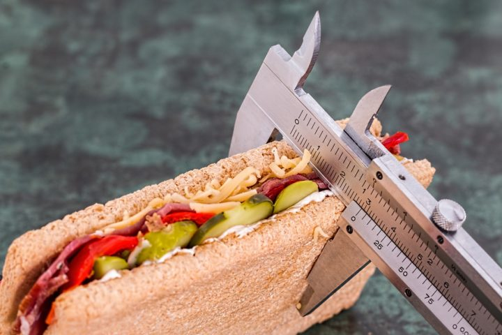 sandwich mesuré