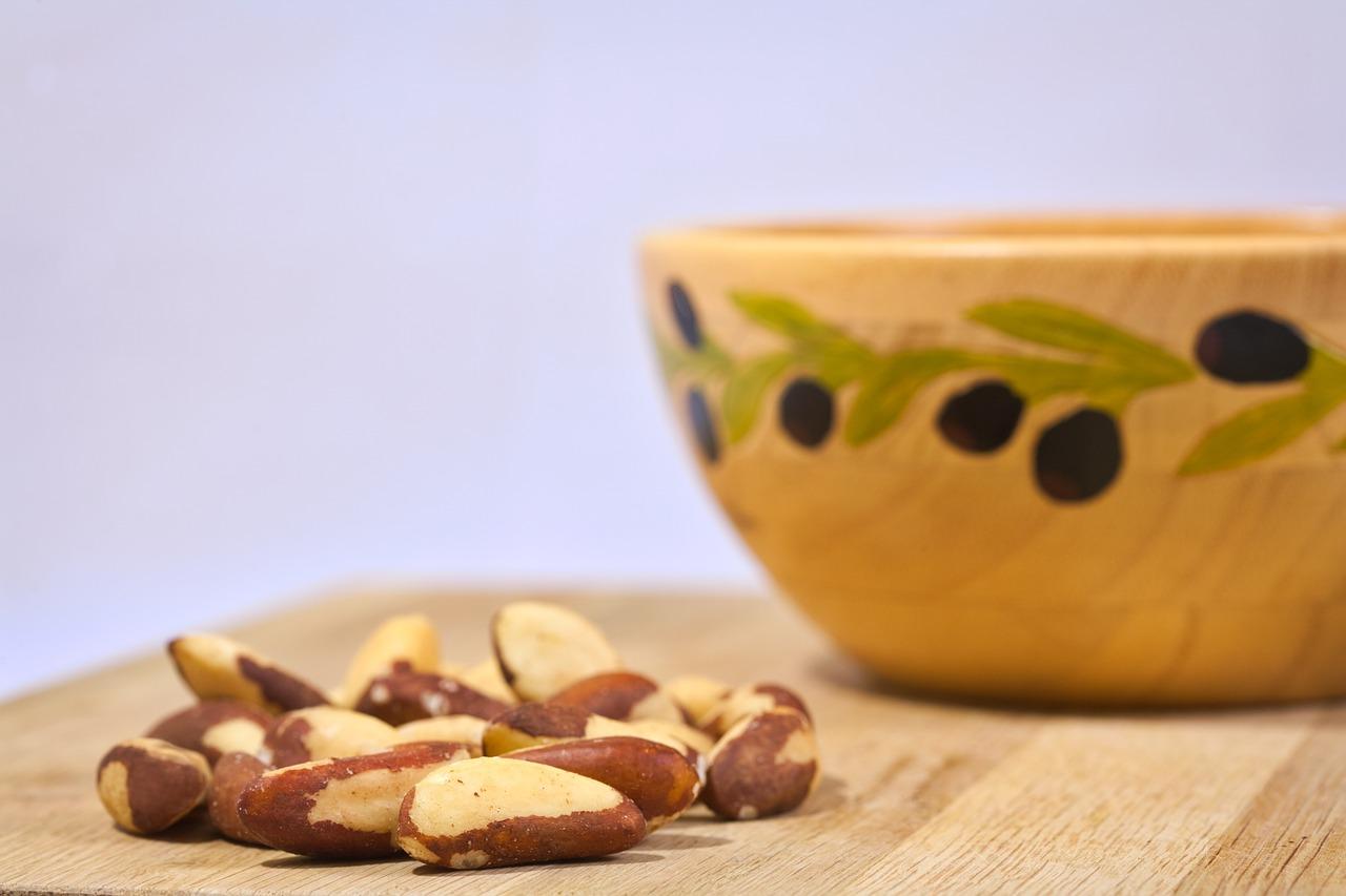 les fruits à coques contiennent du sélénium