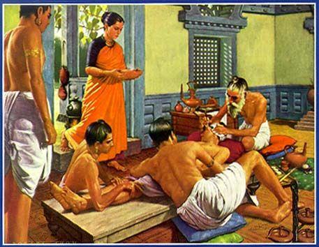 disciples Sushruta