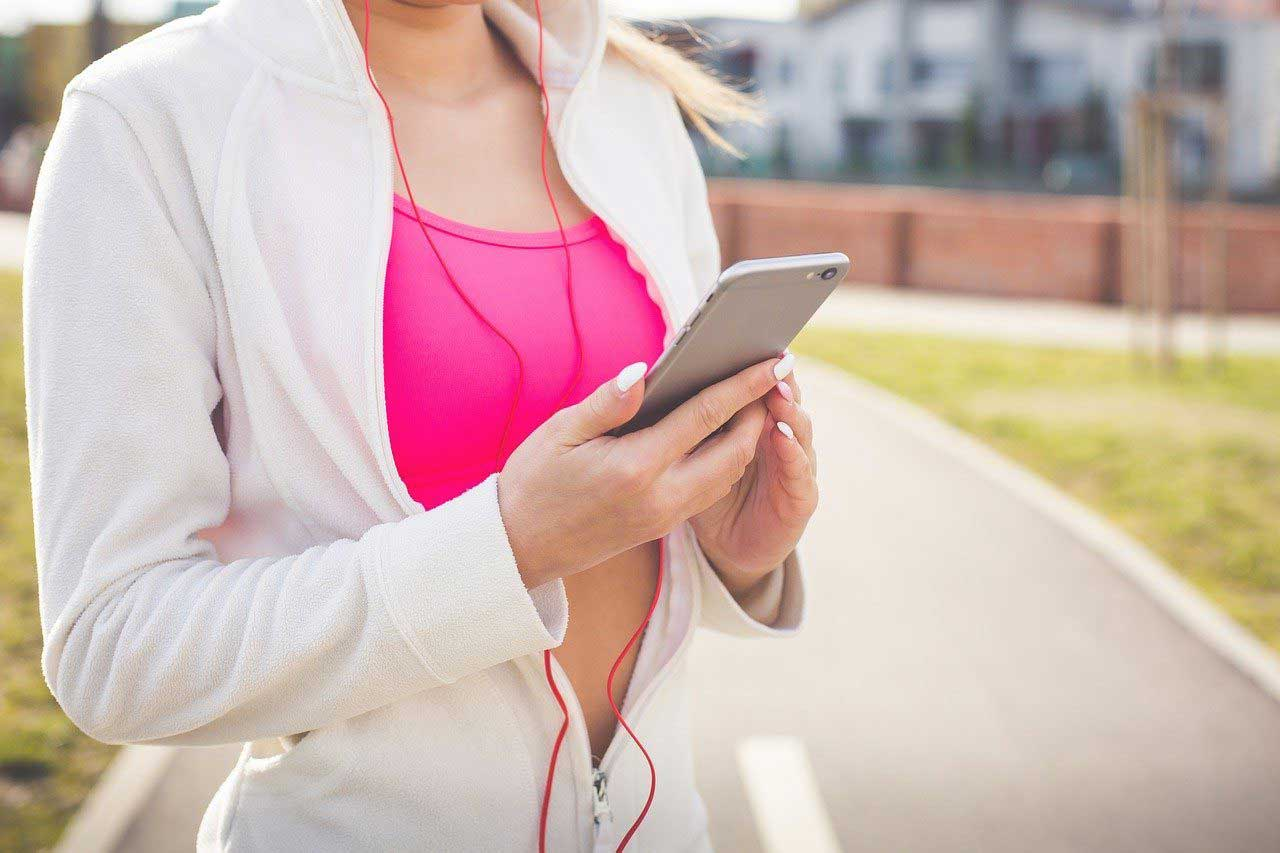 Marche quotidienne et sessions de sport