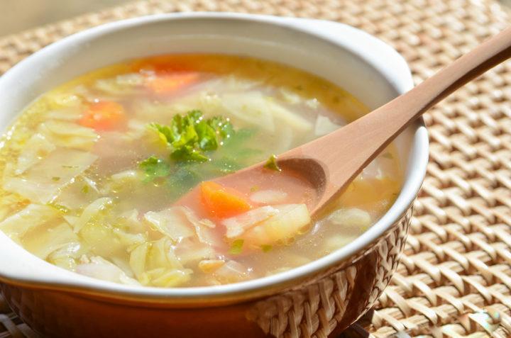 Soupe aux choux pour maigrir rapidement